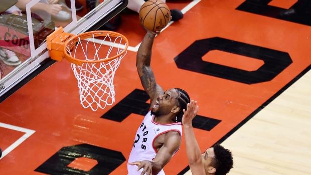 Toronto Raptors forward Kawhi Leonard
