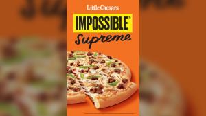 Impossible Supreme pizza