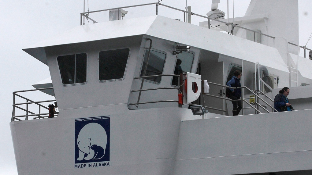 Alaska ferry service may have to pay armed Canadian police