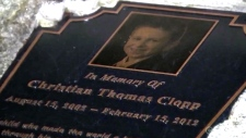 N.J. man urinates on boy's memorial plaque