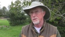 Brian Salt, founder of Salthaven Wildlife Centre