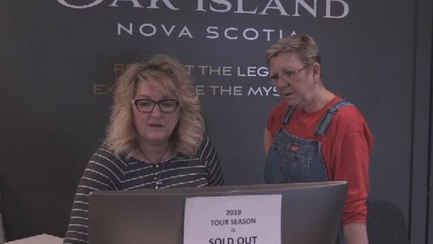 Oak Island Society falls victim to ticket scheme | CTV News Atlantic