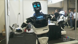 CTV Montreal: Robots take over Palais de Congres
