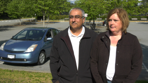 A local couple are offering their tips to help drivers save money at the pumps.