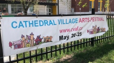 The Cathedral Village Arts Festival runs through Saturday, May 25, 2019.