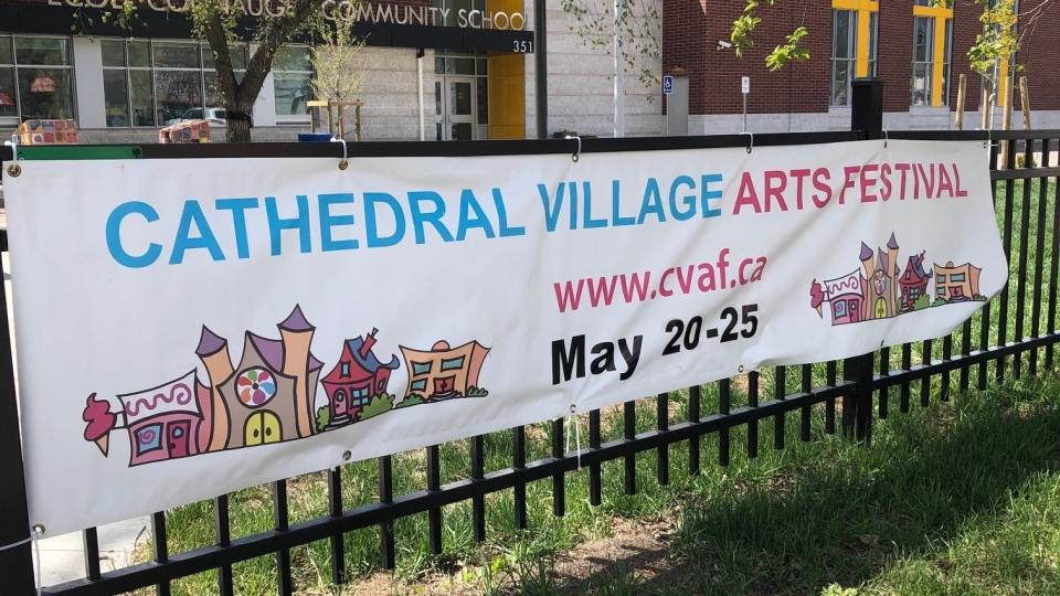 The Cathedral Village Arts Festival runs through Saturday, May 25, 2019.
