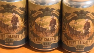 A cease-and-desist order has been sent to the brewers of Fort Calgary ISA over the use of the historical site's name