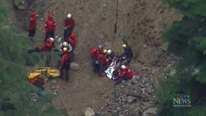 Parents grateful after kids rescued from mountain