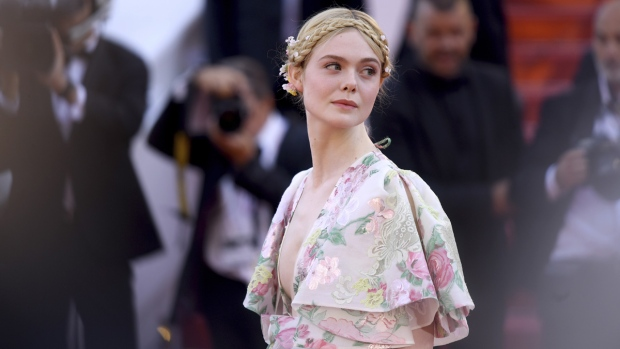 Elle Fanning at the Cannes film festival