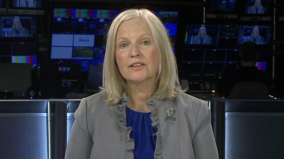 Susan Marshall, chief executive of the Brain Tumour Foundation of Canada, on CTV's Your Morning, Tuesday, May 21. (CTV)