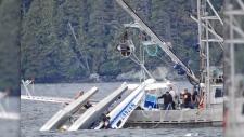 Two people have been killed in a float plane crash in Alaska's Metlatkatla Harbor, Monday, May 20, 2019. (Source: Aerial Leask via CNN)