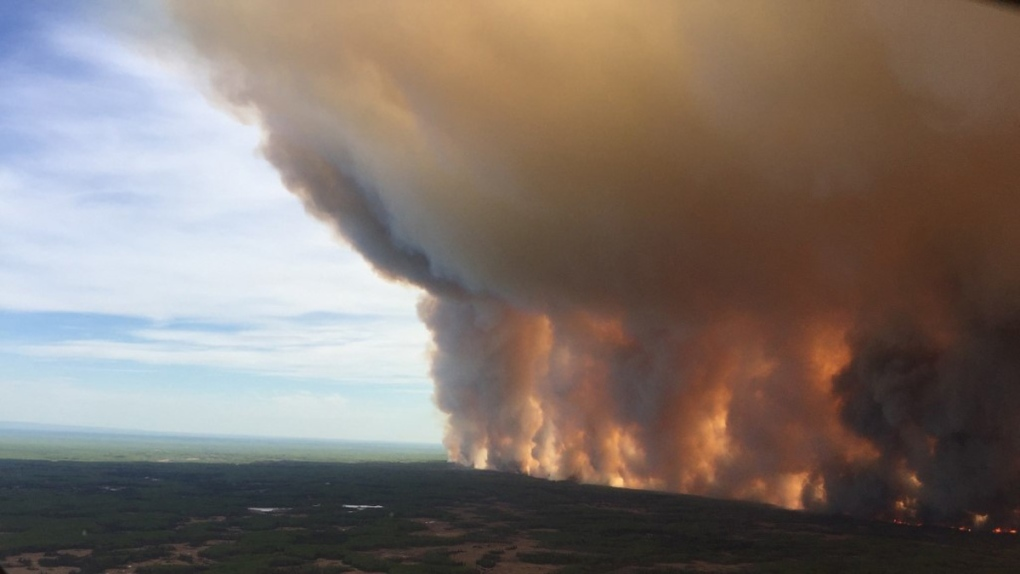The Chuckegg Creek fire
