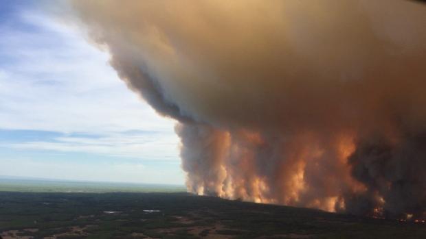 The Chuckegg Creek fire