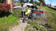 Caught on cam: Man finds stolen dirt bike