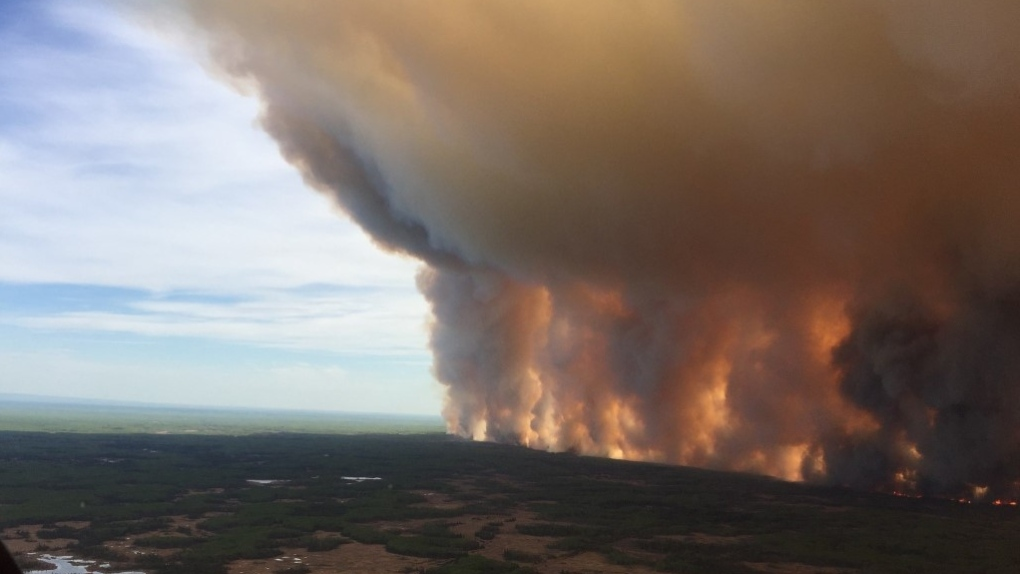'Can't be any more clear': Scientist says fires in Alberta linked to climate change