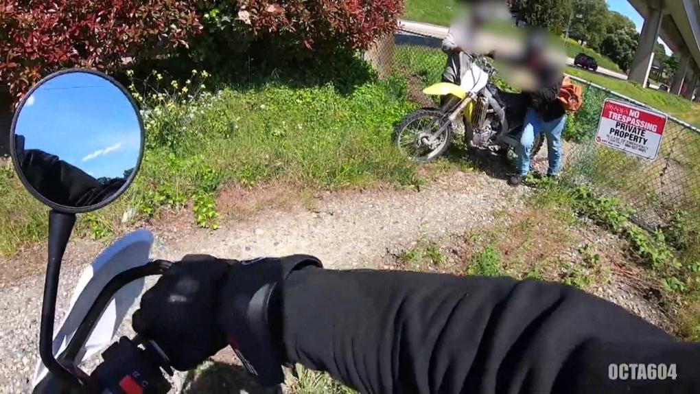 Lucky break leads to stolen dirt bike in New Westminster