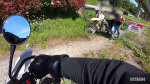 Liam Robertson spotted his friend's stolen dirt bike while riding through New Westminster on May 18, 2019. (Liam Robertson)