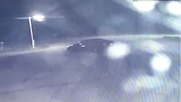 Suspect vehicle wanted in connection with Midland car wash robberies. (Southern Georgian Bay OPP)