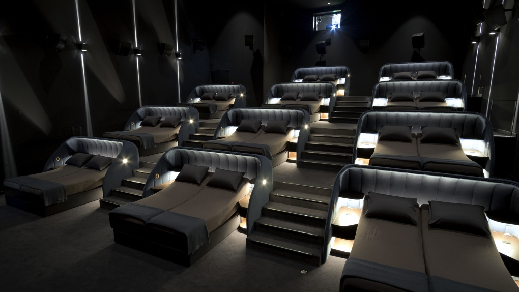 This cinema in Switzerland offers double beds instead of seats
