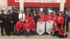 Arthur Voaden secondary school Special Olympians