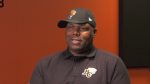 Training camp kicked off Sunday in Kamloops and new B.C. Lions head coach DeVone Claybrooks is busy evaluating his roster.