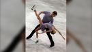 FILE - In this Dec. 8, 2006, file photo, Bridget Namiotka and John Coughlin perform during the ISU Junior Grand Prix of Figure Skating Final in Sofia, Bulgaria. One of the former skating partners of two-time U.S. pairs champion John Coughlin has accused him in a series of social media posts of sexually assaulting her over a 2-year period. (AP Photo/File)