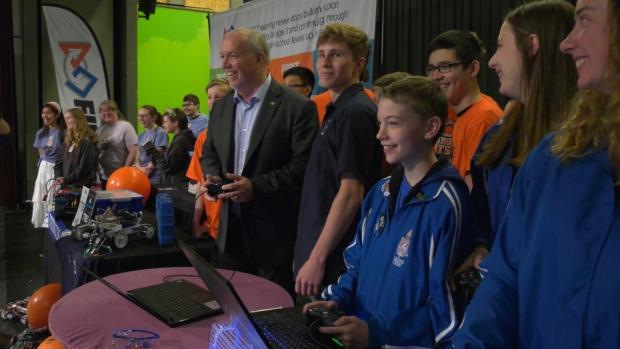 High school robotics programs get $250K boost from B.C.