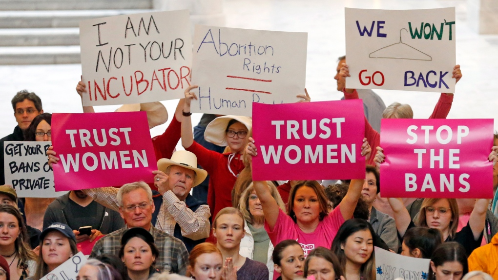 New wave of abortion bans met by cross-U.S. protests