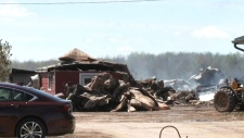Dairy farmers housing cows displaced by barn fire