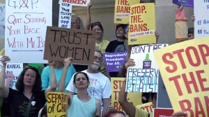 CTV National News: Anger over U.S. abortion laws
