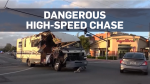 Stolen RV leads police on high-speed chase