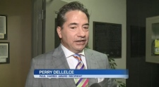 Peter DelleIce at Sudbury Rotary Club awards gala. (Mary Cribbs/CTV Northern Ontario)