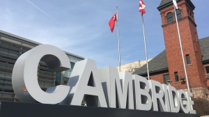 The City of Cambridge sign.