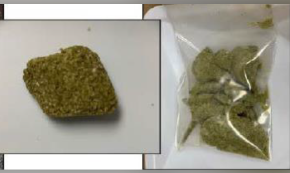 A photo of a cannabis-lookalike product