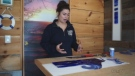 Justine Goulet of Lake Life Studio in Camlachie