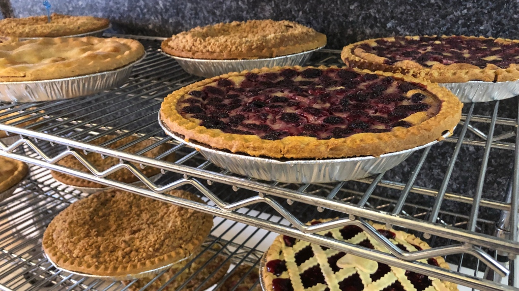 Only local ingredients for Shakespeare bakery