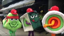 sushi mascots