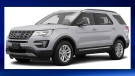 A silver, unmarked 2016 Ford Explorer RCMP vehicle, similar to the one in the photograph, was stolen from a dealership in Carstarirs on May 20, 2019  (RCMP)