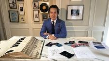 Michael Nguyen, designer of Drake jacket