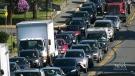 Bridge repairs snarl Victoria traffic