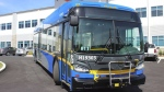 As part of a new 2.5-year pilot, TransLink is rolling out four battery-electric buses. Courtesy: Translink