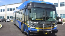 As part of a new two-and-a-half-year pilot, TransLink is rolling out four battery-electric buses. Courtesy: Translink