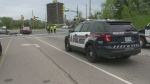 Rider thrown from motorcycle in Waterloo crash