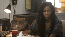 Jessica Williams in a scene from 'Booksmart'
