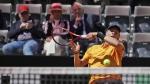 Denis Shapovalov at the Italian Open tennis tournament, in Rome, on May, 16, 2019. (Alessandra Tarantino / AP)