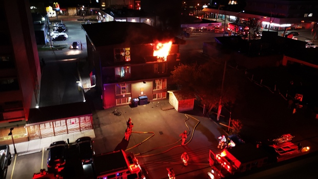 beltline apartment fire