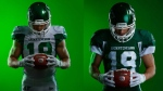 The Roughriders unveiled their new jerseys on May 23, 2019 (Twitter: Saskatchewan Roughriders)