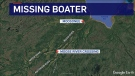 Missing boater south of Moosonee (CTV Northern Ontario)