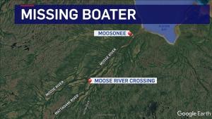 Missing boater south of Moosonee (CTV Northern Ontario)