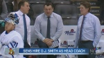Senators name D.J. Smith head coach